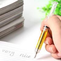 1 PC Syringe Shape Pens Ball Point Pen Fashion Pens For Hospital Nurse Free Shipping # L014197
