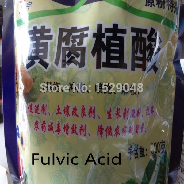 Fulvic aicd per la casa giardino fertilizzanti (500g) acido umico potassa fulvic acido fertilizzante in agricoltura  (China (Mainland))