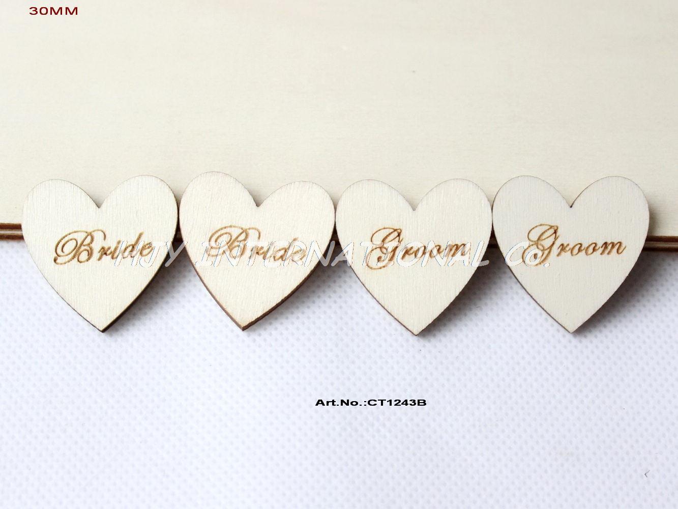 B List Wedding Gift : ... Bride-Groom-Wedding-Hearts-DIY-Wedding-Decor-Gift-Tag-30mm-CT1243B.jpg