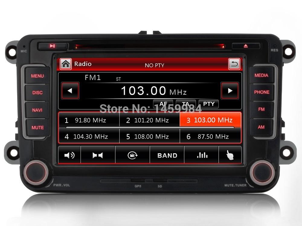"""iFreGo 7"""" Car DVD For VW GPS Navigation original menu bluetooth for GOLF 6 polo Bora JETTA MK4 SKODA OCTAVIA Fabia GPS Map(China (Mainland))"""
