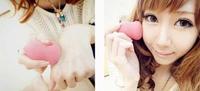 Pink Makeup Applicator Foundation Blender Buffer Sponge Puff Flawless Smooth