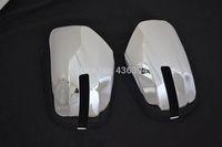 Side Mirrors Rearview Cover Trim For Mitsubishi Montero/Pajero Sport 2009-2014