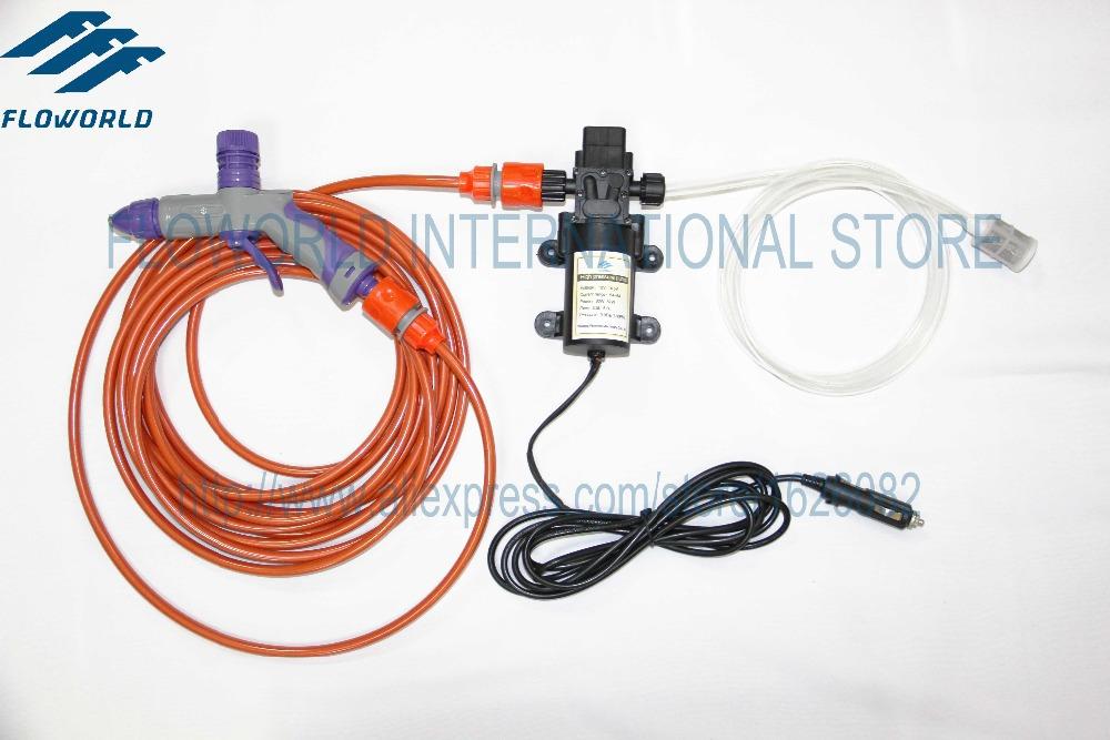 FLO-21 Foam Lance High Pressure Water Gun High Pressure Car Wash 12V Or 220V Car Washer With Mini High Pressure Washer Pump(China (Mainland))