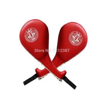 Красный таэквондо равномерной прочный удар Pad целевая таэквондо каратэ кикбоксинг HB88