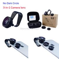 Apexel 10set/lot universal clip 3 in 1 180 fisheye lens + 0.67x Wide Angle&Macro Lens for iPhone/Samsung APL-FCFWM