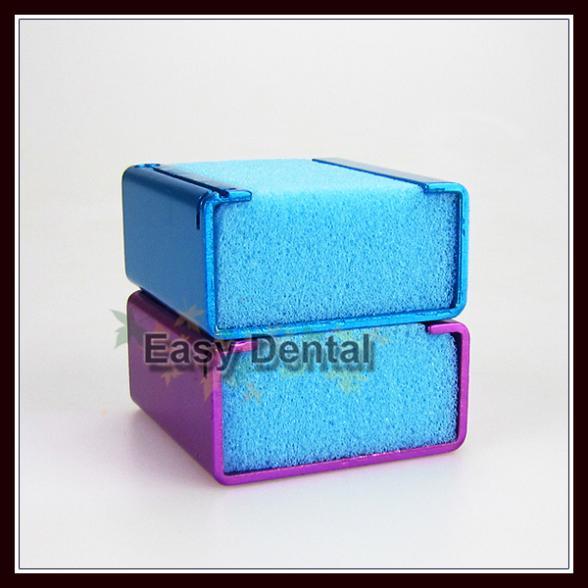 2pcs Endo Foam Sponges K ENDO CUSHION Dental Root Canal File Holder w/ Ruler(China (Mainland))
