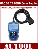 2014 New Release and Hot Sale Code Reader OTC OBDII/CAN/ABS/Airbag (SRS) Scan Tool OBD2 EOBD Code Reader 3111+Free Shipping