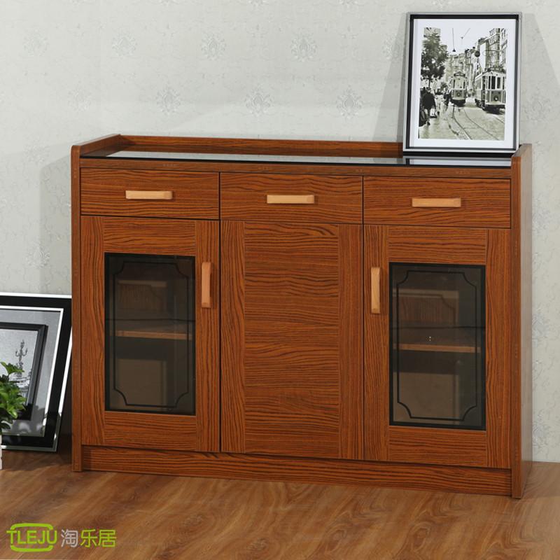 Wood sideboard wine cupboard cabinets lockers IKEA kitchen minimalist modern garden furniture deals(China (Mainland))
