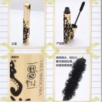 Black Charming Bushy Long Curling Waterproof Eyelash Not blooming Extension Fiber Eye Lashes Mascara
