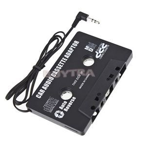 New FOR MP3 CD MD DVD For Clear Sound Music Car Cassette Tape Adapter Free Shipping(China (Mainland))