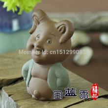 Yixing Interesting tea pet decoration crafts gift tea set decoration zisha teapet handmade tea pet12 styles