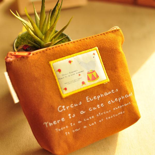 South Korea South Korea stationery wholesale stationery - Happy Circus Storage bag purse small debris bag 50g(China (Mainland))