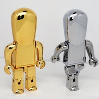 USB 3.0 Real 64GB Memory Flash Robot 8gb 16gb 32gb USB Flash Drive Stick Thumb Drives Pendrive Pendrives Flash Card Gift Gifts