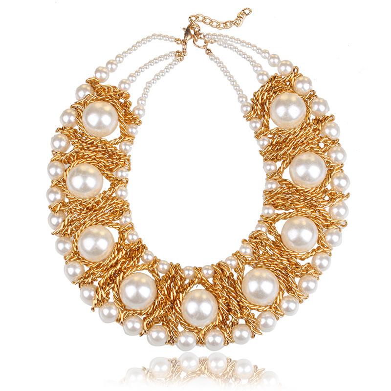 Колье-ошейник Chain necklace [nptx4g колье цепь other diy 2 1 56 5 chain necklace