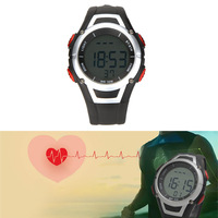 Multi-Function Wireless Heart Rate Monitor 60~`220 bpm Range Chest Strap Watch Fitness Belt Sport Calorie Fat Calculation