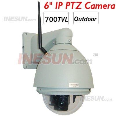 700TVL CCD 27x óptico de 10X Zoom Digital ao ar livre sistema de segurança câmera Ip Speed Dome PTZ(China (Mainland))