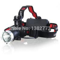T6 18650 Headlight 3-Modes 1800 Lumen Bike Light CREE XM-L T6 LED Camp Headlamp Bicycle Head Lights
