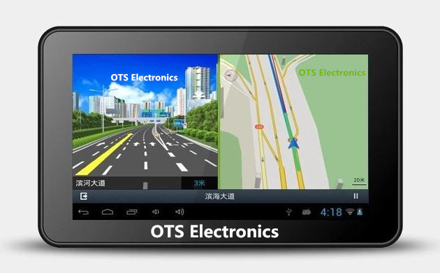 Latest New 7 inch GPS Android 4.0 Navigation Capacitive touch Tablet WiFi Internet FM 8GB Free Map Europe/Russia/USA/Australia(China (Mainland))