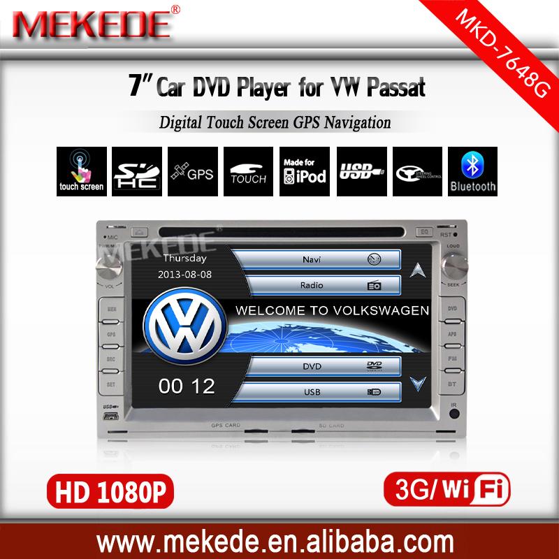 Head Unit Car GPS navigation Player for Volkswagen Passat B5 / MK5 Jetta Bora Polo Golf w/ Radio Bluetooth TV USB AUX 3G wifi(China (Mainland))