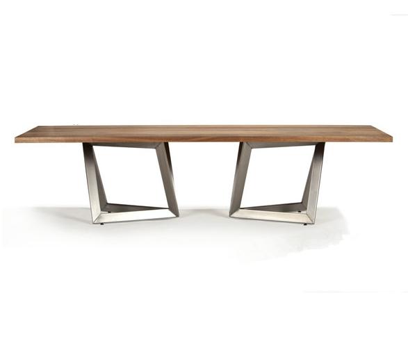 Am rique village loft olien industriel bois fer forg - Longue table basse ...