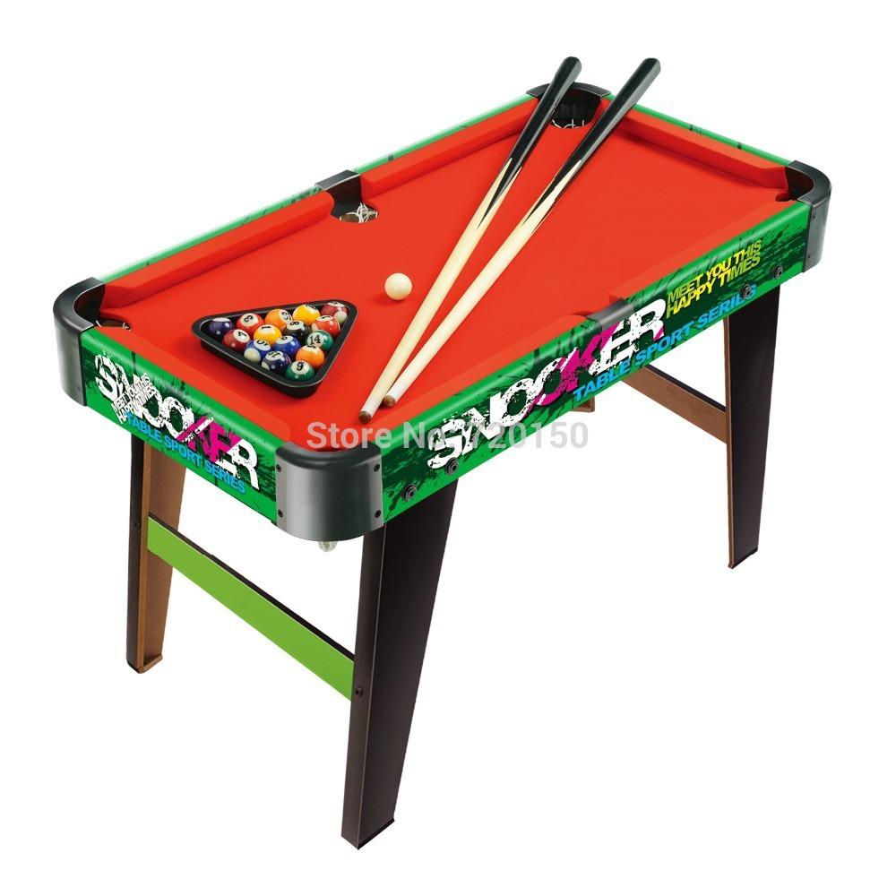 Table de billard petite taille piscine jeu couleur peinture billard aux enf - Table billard enfant ...