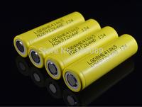 DHL Free Shipping 100PCS  Genuine LG HE4 Chem 18650 ICR18650HE4 30A 35A discharge li-ion battery cell 2500mah Free Shipping
