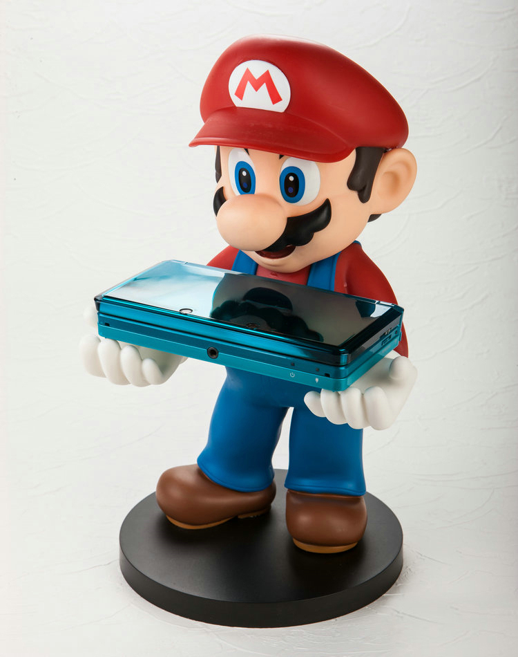 30cm PVC Mario 3DS/PSP/iPhone stents Model Toys Anime(China (Mainland))