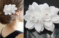 2015 New Soft Diamond Rhinestone Short Bride Hair Accessory Flower Wedding Bridal Veil Accessories Brides Hair Decoration Supply