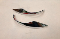 Side Door Mirrors Rearview Stripe Cover TRIM for Toyota Corolla ALTIS SEDAN 2014