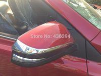 Side Door Mirrors Rearview Stripe Cover TRIM For 2013 2014 TOYOTA RAV4 RAV 4