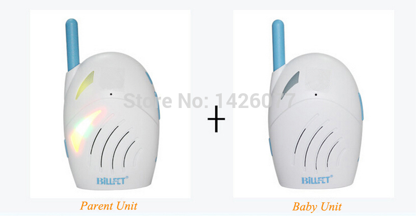 2015 New 2.4Ghz Portable Wireless Digital Audio Baby Monitor Cry Detector Clearly Audio 2 Ways Intercom Child Nanny Safety Care(China (Mainland))