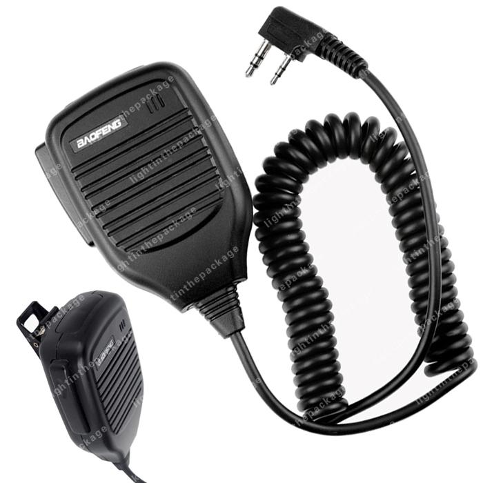5x BAOFENG ручной спикер микрофон для уф-5r плюс V2 + 5RA ...