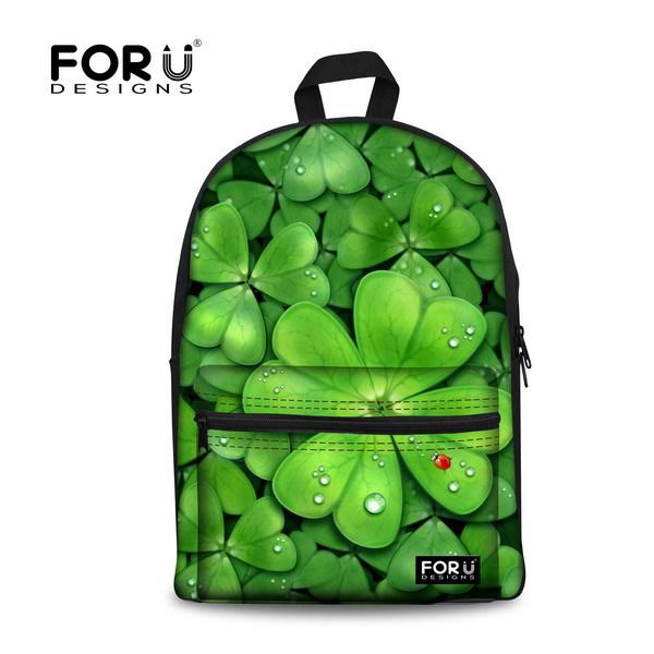 Школьный рюкзак FOR U DESIGNS 3D 2015 Bagpack Mochilas IU87 рюкзак designer backpack 2015 mochilas femininas school bags for teenagers