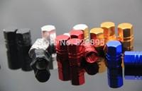 1200pieces! Aluminium alloy Air Cap Valve cap Car Tire Valve Stem Caps Cover Dust Red Black Gold silver
