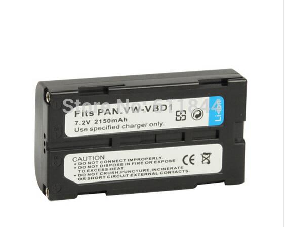 free shipping durable VW-VBD1 Battery for Panasonic Digital Camera 2pcs/lot(China (Mainland))