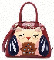 2015 New Lolita cute cartoon owl handbag, ladies fashion brand bags exclusively designed, high-quality fabrics bag