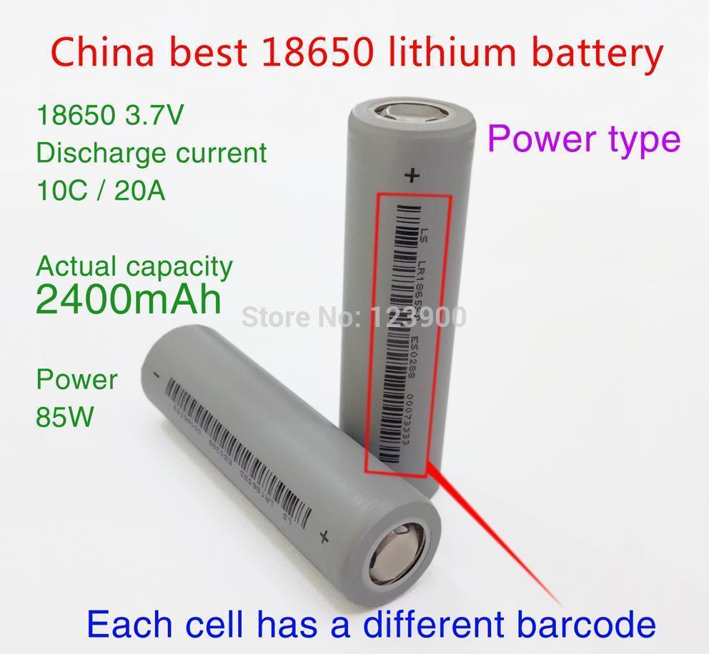 Аккумулятор SONA 2 18650 3.7V 2400mAh 20A /hm аккумулятор 18650 zest quest 3100mah 45a 2 штуки