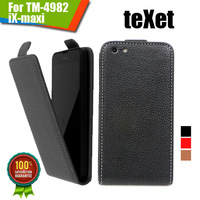 New items 100% Special Case PU Leather Flip Up and Down Case + Free Gift For teXet TM-4982 iX-maxi