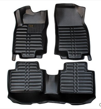 Good carpets! Special car ottomans for Nissan x-trail 2015 waterproof durable leather floor mats for X TRAIL 2014,Free shipping(China (Mainland))