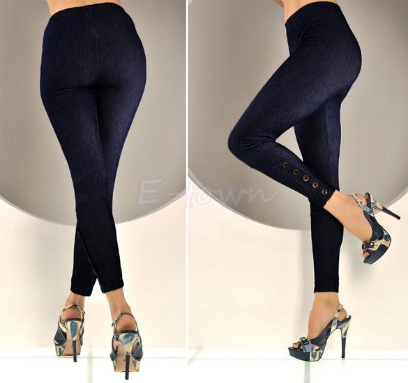 New 2015 Fashion Spring Summer Casual Skinny Jeans Leggings Women Slim Thin High Elastic Denim Pencil Pants For Women 12(China (Mainland))