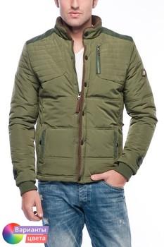 Мужская утепленная куртка-пилот Let's GO из коллекции весна 2015 из Турции с бесплатной экспресс доставкой ( 14K6629 ) [ BR05 MCM01 TP40 SP06 ]