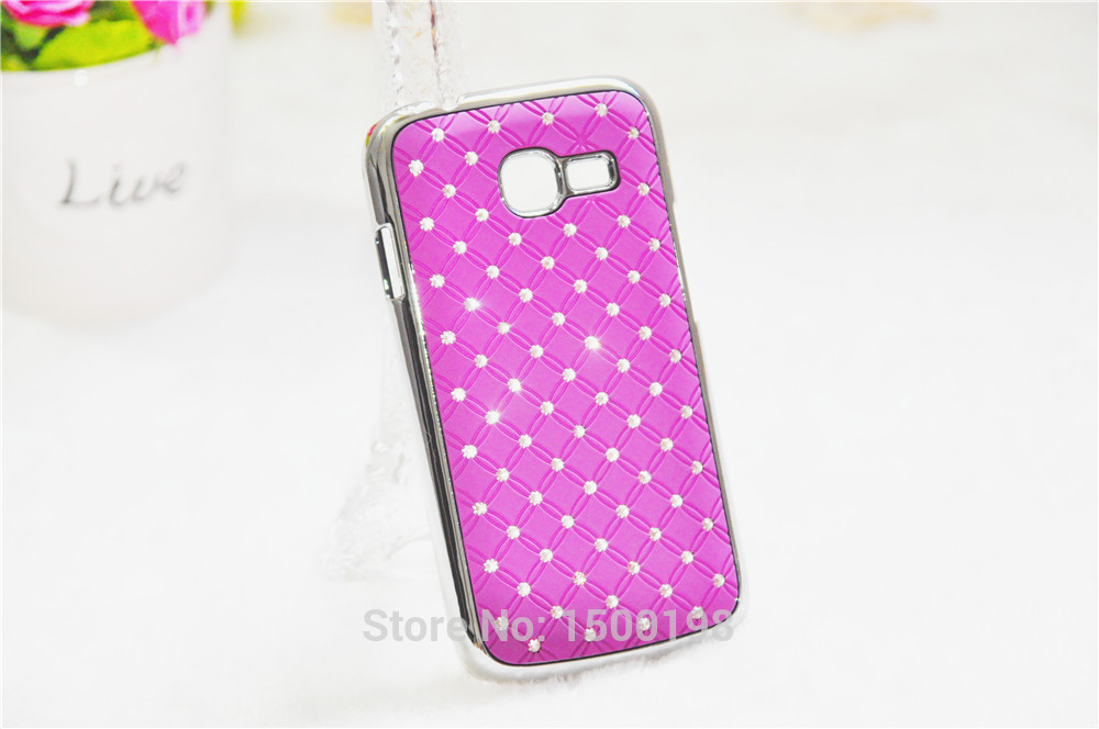 Bling Star Crystal Rhinestone Diamond For Samsung Galaxy Star Pro S7260 S7262 7260 7262 GT-S7262 Phone Case Back Cover for S7262(China (Mainland))