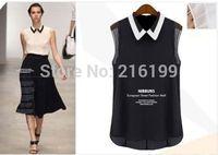 New Hot Women's Breathable Summer Fashion Loose Chiffon Shirt T-shirt Fashion Top Blouse