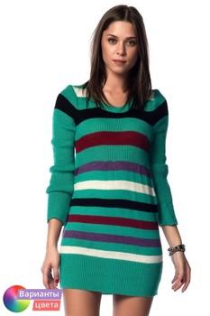 Женская модная туника New Surptise из коллекции весна 2015 из Турции с бесплатной экспресс доставкой ( NWS-5713 ) [ BR06 MCW01 TP87 SP02 ]