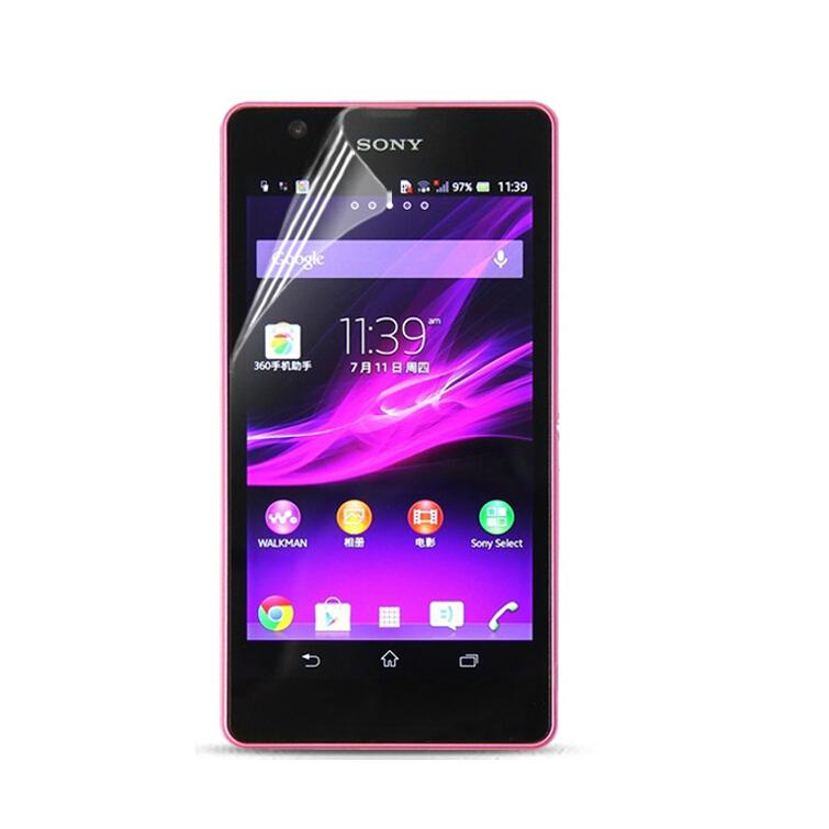 Защитная пленка для мобильных телефонов 10Pcs/lot /Sony Xperia ZR M36h C5502 Sony Xperia ZR + защитная пленка для мобильных телефонов hd sony xperia zr m36h