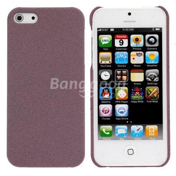 SoMagic Slim Sand Shell Quicksand Plastic Case For iPhone 5(China (Mainland))