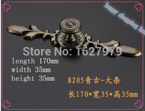 01 Hardware accessories flower vintage handle door drawer knobs furniture pulls cabinet handles Zinc alloy material(China (Mainland))