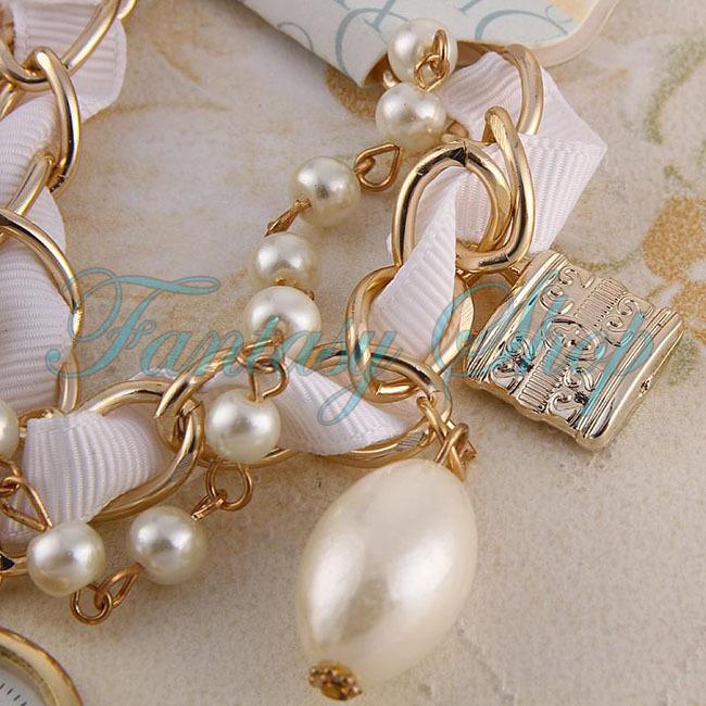 Pearl Bracelet Watch uk Woman Pearl Bracelet Watch