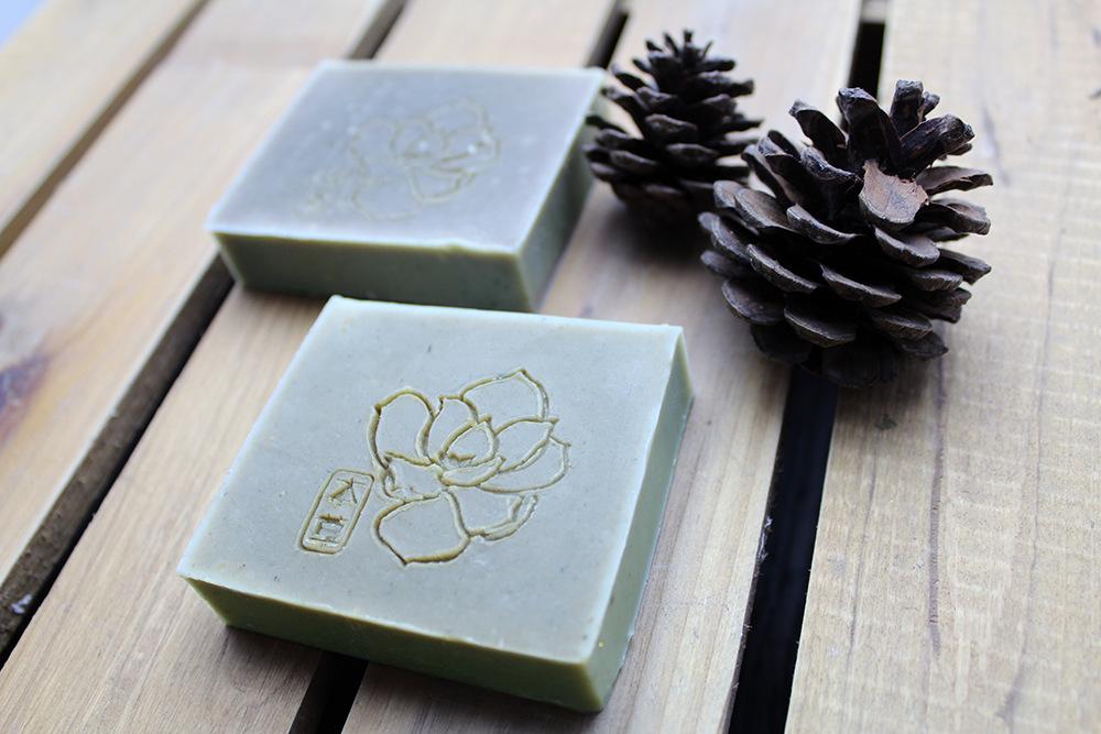 DIY Cleansing Facial, Artemisia Argyi Cold Soap,Natural Handmade Soap,Antibacterial Dampness Purification Savor Anti-sensitive(China (Mainland))