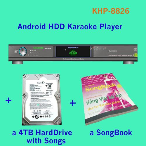 Подробнее о Караоке Lemon KTV,SINGMATE 8826 27850 & , 4 , bulid /AVC KHP-8826 ktv